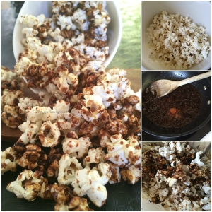 Spicy Popcorn steps