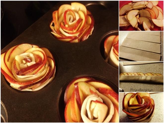 Rose Tart Collage